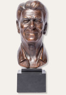 President Ronald Reagan - U.S. Presidential Bust - Museum Store Company Photo