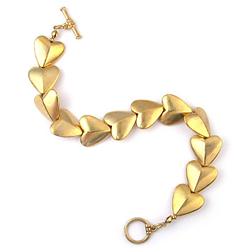 Bactrian Heart Bracelet with Toggle - Museum Shop Collection - Museum Company Photo