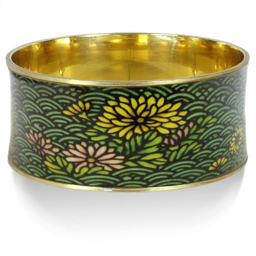 Chrysanthemum Bangle - Museum Shop Collection - Museum Company Photo