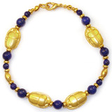 Scarab and Lapis Bracelet - Museum Shop Collection - Museum Company Photo