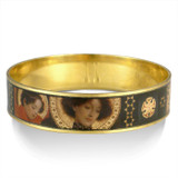 Klimt Circle Pattern bangle - Museum Shop Collection - Museum Company Photo