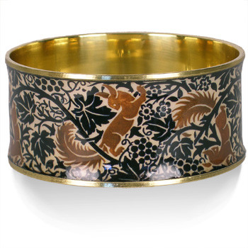 Fox and Grapes Bangle - Museum Shop Collection - Museum Company Photo