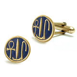 Cartouche Cufflinks - Museum Shop Collection - Museum Company Photo