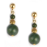 Imperial Jade Earrings - Museum Shop Collection - Museum Company Photo