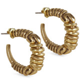 Coil Ring Earrings - Museum Shop Collection - Museum Company Photo