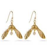 Maple Seed Earrings - Museum Shop Collection - Museum Company Photo