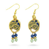 Vienna Secessionist Earrings - Museum Shop Collection - Museum Company Photo