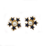 Stars of Freedom Clip Earrings - Museum Shop Collection - Museum Company Photo