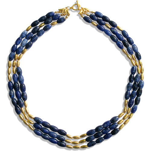 Sumerian Triple Strand Collar - Museum Shop Collection - Museum Company Photo