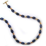 Mesopotamian Sodalite Necklace - Museum Shop Collection - Museum Company Photo