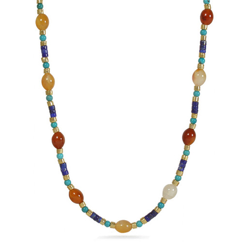 Fire Agate Necklace - Museum Shop Collection - Museum Company Photo