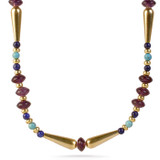 New Kingdom Amethyst Necklace - Museum Shop Collection - Museum Company Photo