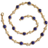 Elizabethan Lapis Lazuli Necklace - Museum Shop Collection - Museum Company Photo