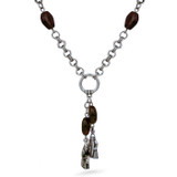 Lewis Chessmen Necklace, with garnet - Museum Shop Collection - Museum Company Photo