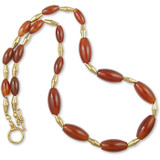 Mesopotamian Carnelian Necklace - Museum Shop Collection - Museum Company Photo