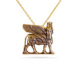 Lamassu Winged Bull Pendant - Museum Shop Collection - Museum Company Photo