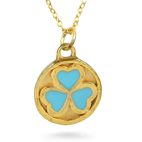 Bactrian 3 heart Disc Pendant - Museum Shop Collection - Museum Company Photo
