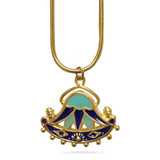 Egyptian Lotus Pendant - Museum Shop Collection - Museum Company Photo