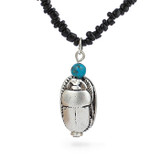 Scarab and Turquoise Pendant - Museum Shop Collection - Museum Company Photo