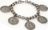 Janus bracelet 5 charms - Museum Shop Collection - Museum Company Photo