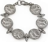 Janus double headed 6 coin bracelet - Museum Shop Collection - Museum Company Photo