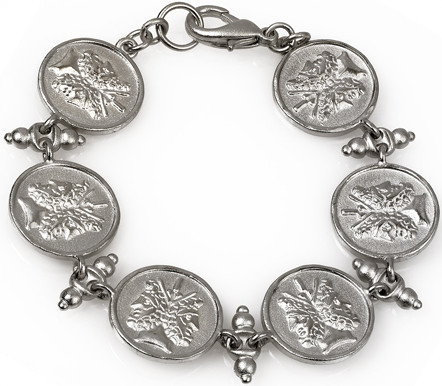 Janus double headed 6 coin bracelet - Museum Shop Collection - Museum Company Photo