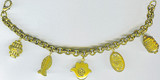 5-Charm Judaic bracelet - Museum Shop Collection - Museum Company Photo