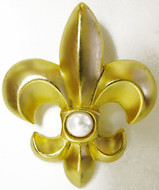 Fleur-de-Lys brooch - Museum Shop Collection - Museum Company Photo