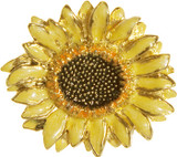 Sunflower brooch - Museum Shop Collection - Museum Company Photo