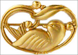 Dove-of-Peace brooch, Art Nouveau design - Museum Shop Collection - Museum Company Photo