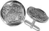 Greek OWL  cufflinks - Museum Shop Collection - Museum Company Photo