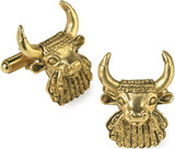 Bullhead  cufflinks - Museum Shop Collection - Museum Company Photo