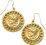 Greek - Alexander the Great ear-wire earrings - Museum Shop Collection - Museum Company Photo