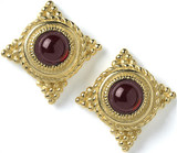 Roman grain earrings, Garnet - Museum Shop Collection - Museum Company Photo