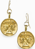 Janus earrings - Museum Shop Collection - Museum Company Photo