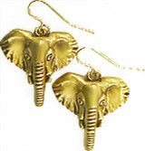 Elephant earrings - Museum Shop Collection - Museum Company Photo
