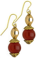 Carnelian earrings - Museum Shop Collection - Museum Company Photo