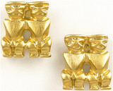 Pre Columbian Peruvian earrings - Museum Shop Collection - Museum Company Photo
