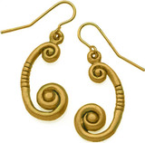 Spiral earrings - Museum Shop Collection - Museum Company Photo