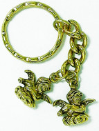 Two Angel key ring - Museum Shop Collection - Museum Company Photo