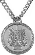 Janus pendant two sided charm - Museum Shop Collection - Museum Company Photo