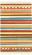Bistro - Multi / Multi Rug : Wool Flat Weave Collection - Photo Museum Store Company