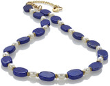 Lapis and pearl necklace - Museum Shop Collection - Museum Company Photo