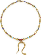 """18"""" Egyptian necklace with cobra center - Museum Shop Collection - Museum Company Photo"""