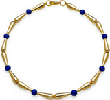 Egyptian necklace with Lapis beads - Museum Shop Collection - Museum Company Photo