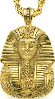 King tut mask pendant with chain museum shop collection king tut mask pendant with chain museum shop collection museum company photo aloadofball Gallery