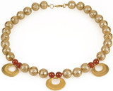 Pre Columbian Golden necklace - Museum Shop Collection - Museum Company Photo