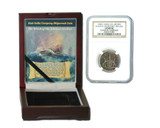 Genuine Admiral Gardner Shipwreck Treasure Coin NGC Certified Slab Box (Medium grade) : Authentic Artifact - Museum Company Photo