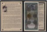 Genuine Benito Mussolini : Dictator Of Italy Album : Authentic Artifact - Museum Company Photo