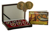 Genuine First Days of Christmas: Box of 6 Ancient Coins Pertaining to the Nativity of Jesus Christ  : Authentic Artifact - Museum Company Photo
